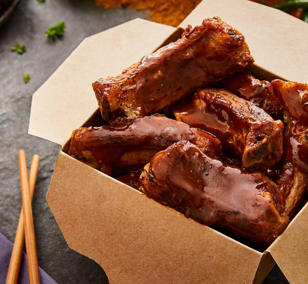 Chinese Finger Food Ribs